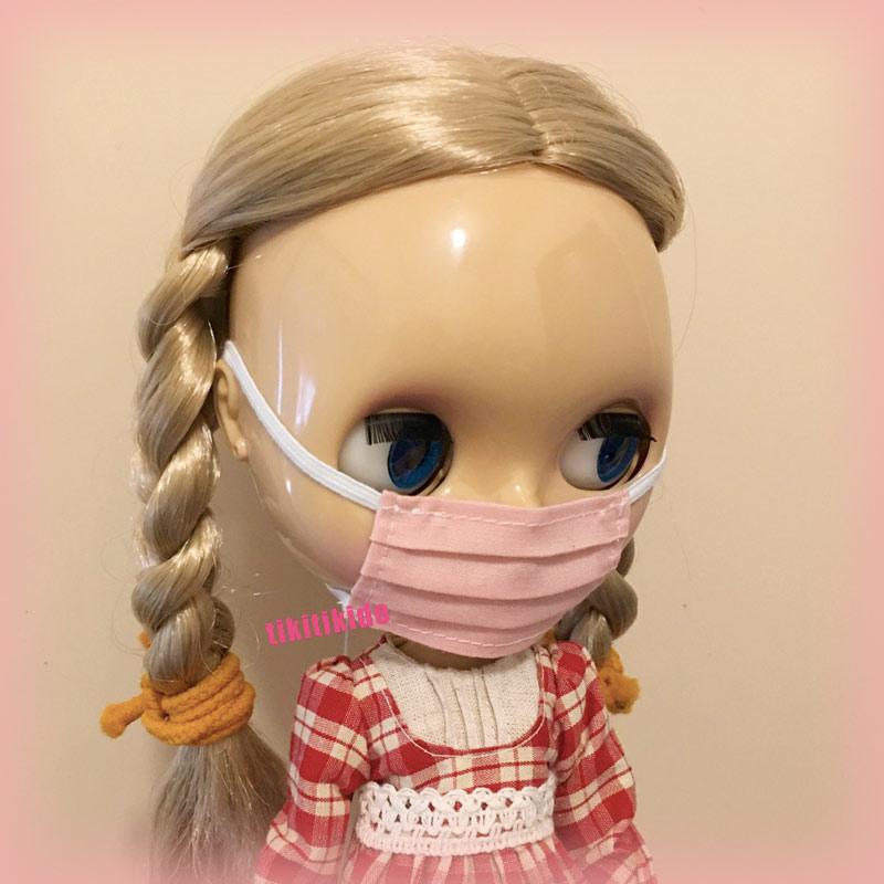 ブライスのマスク(ピンク)